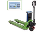 Pallet truck scales, with built-...